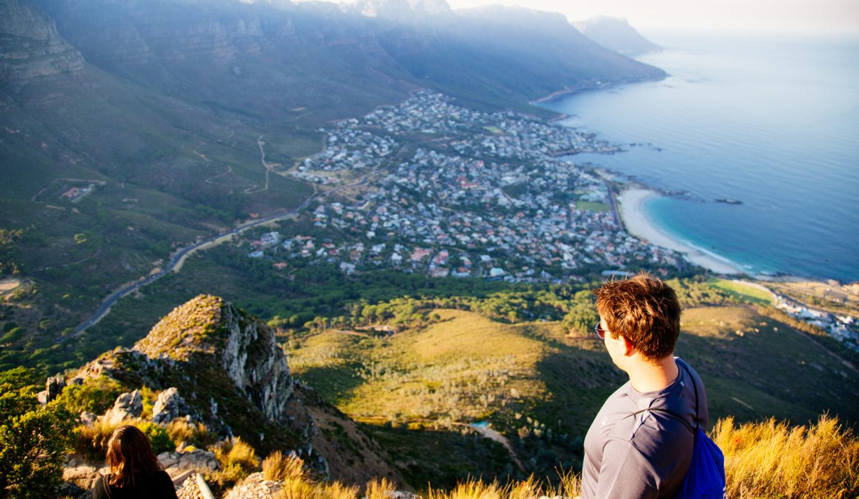 The view of Camps Bay from Lions Head