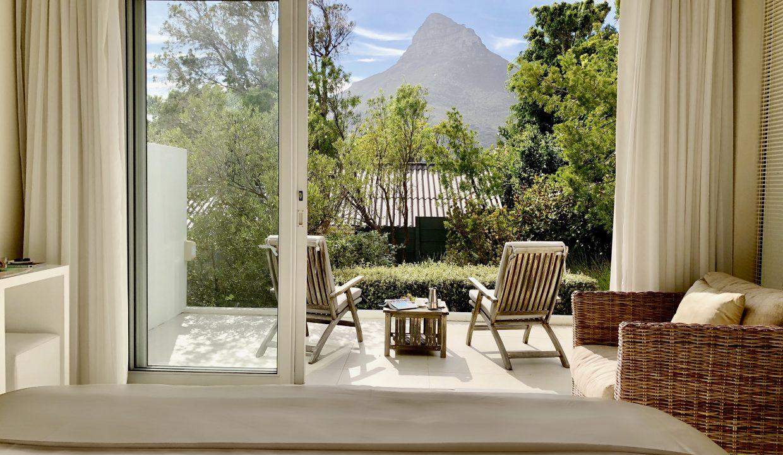 Penthouse Garden Bedroom View