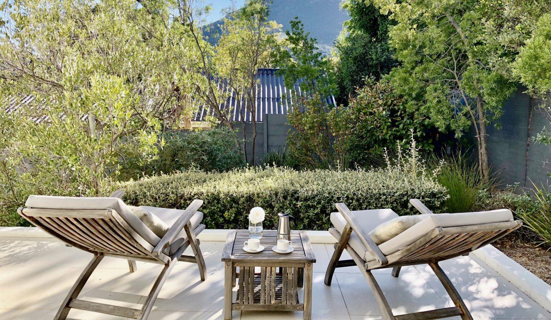 Penthouse Garden Room Patio
