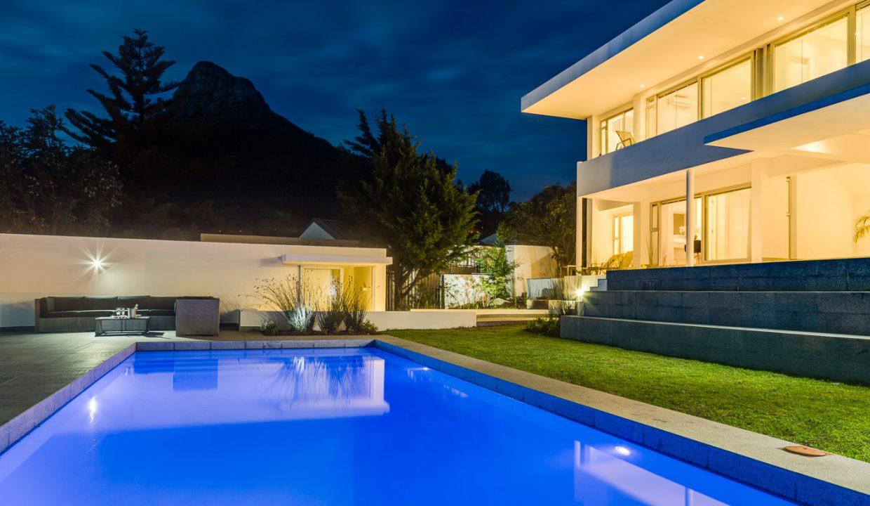 Pool Exterior Evening