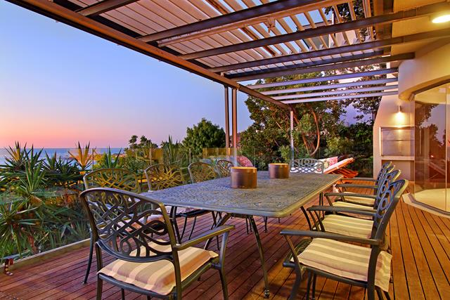 Panacea - Patio Dining and views dusk (Copy)