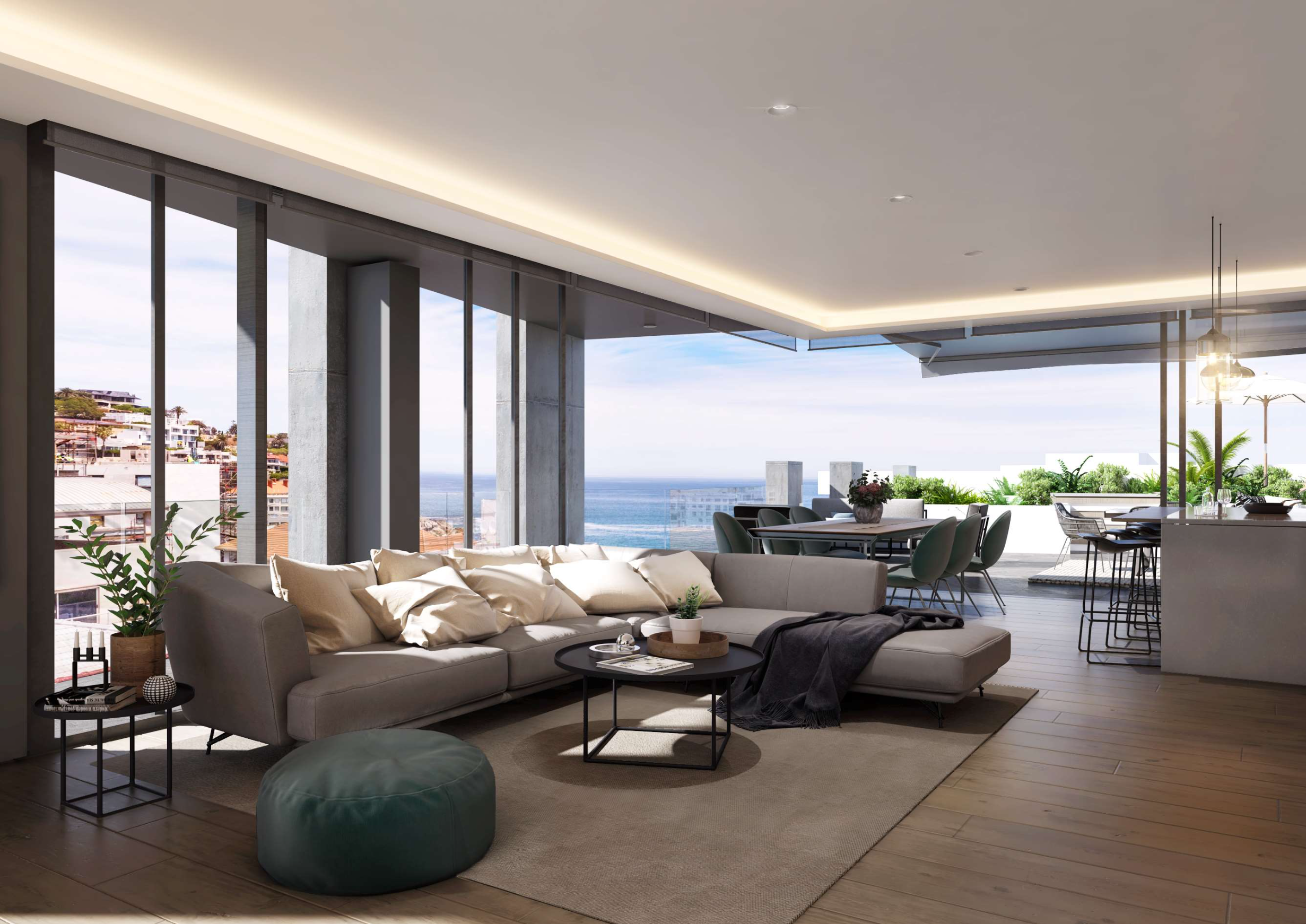 Brand-new 57m² 1 Bedroom 1 Bathroom apartment for sale in Bantry Bay