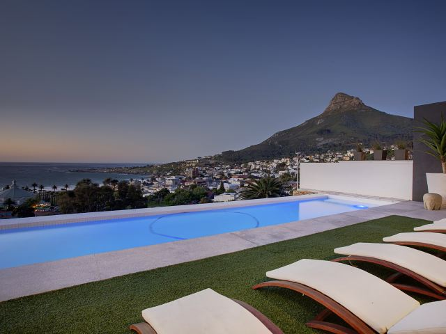 40.Sunset View over infinity pool